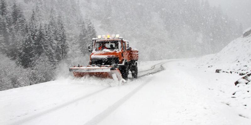 Marmara Bölgesi'nde kuvvetli kar yağışı
