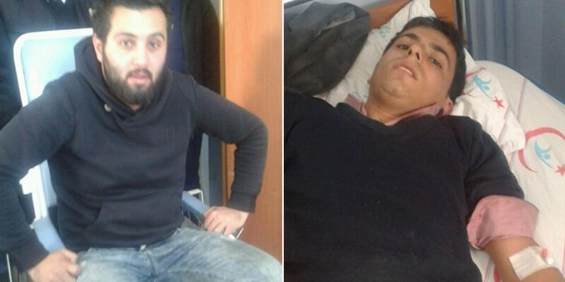 DHA muhabirlerinin aracı Ermenek'te uçuruma yuvarlandı
