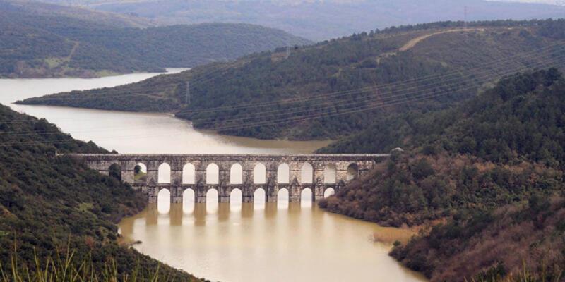 İstanbul'un barajlarında doluluk oranı yüzde 52.94'e ulaştı