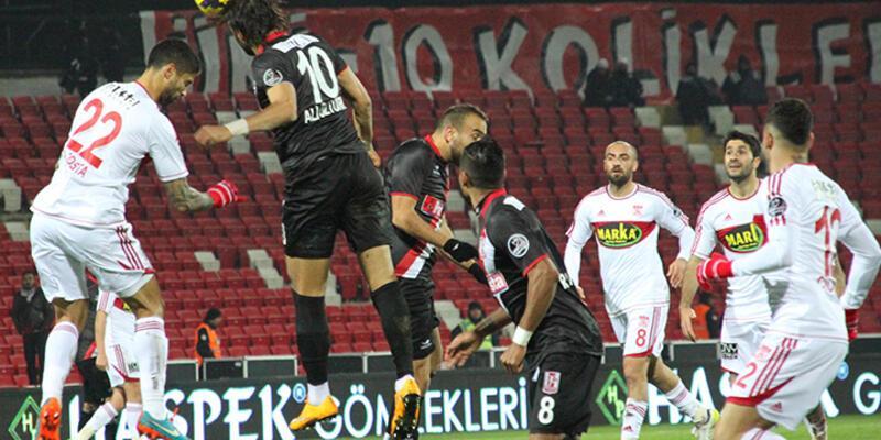 Balıkesirspor - Sivasspor: 1-3