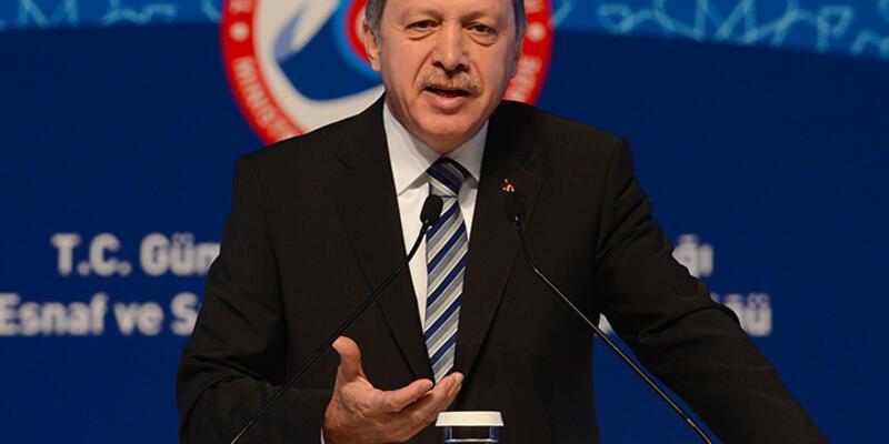 """Erdoğan: """"Esnaf gerektiğinde asker, polis ve hakimdir"""""""