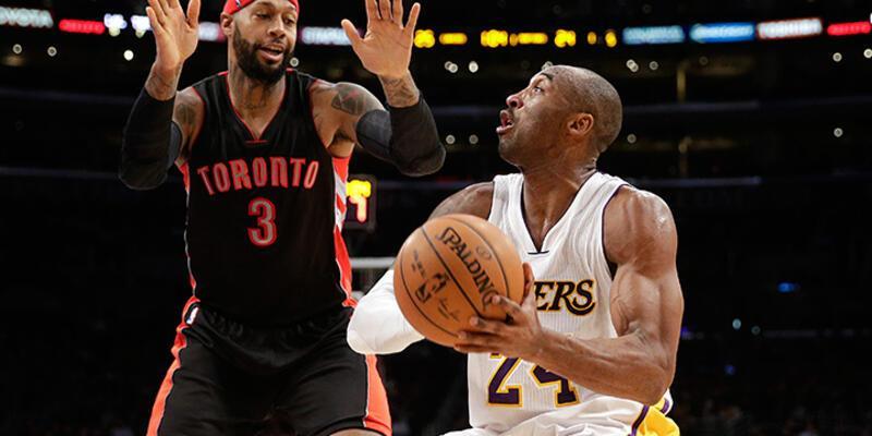 Lakers uzatmada kazandı, Kobe tarih yazdı