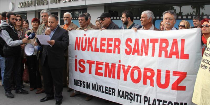 Nükleer karşıtları'ndan Akkuyu ÇED raporuna tepki