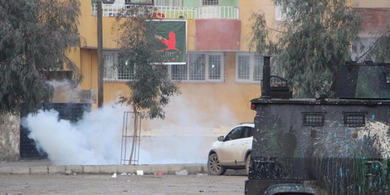 Şırnak'taki IŞİD protestosuna müdahale