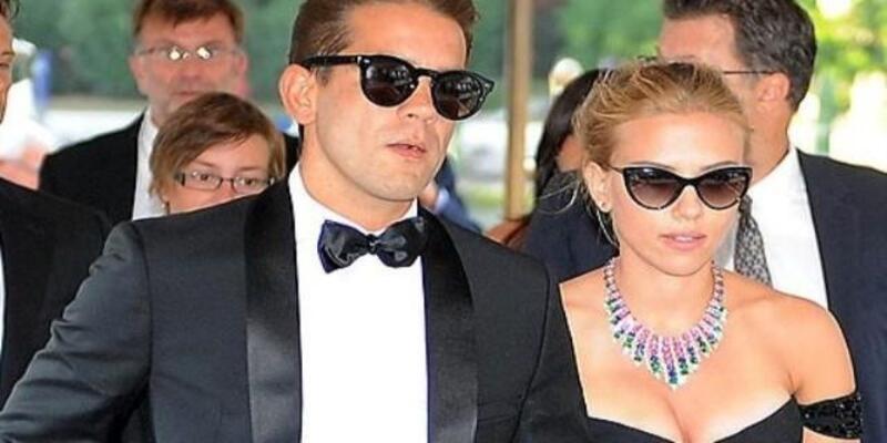 Scarlett Johansson, gazeteci nişanlısıyla evlendi