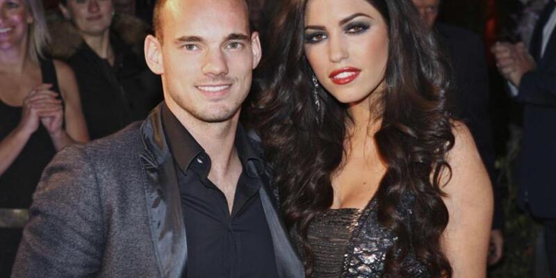 Wesley Sneijder'in evine polis baskını