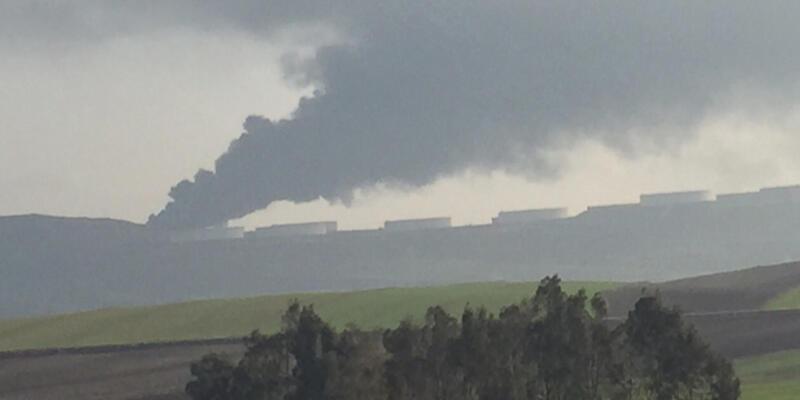 BOTAŞ'taki yangın söndürüldü