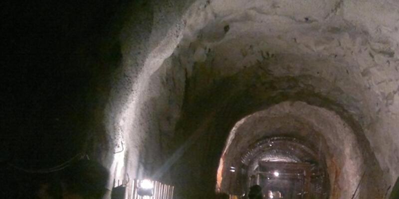Çin'de tünel çöktü