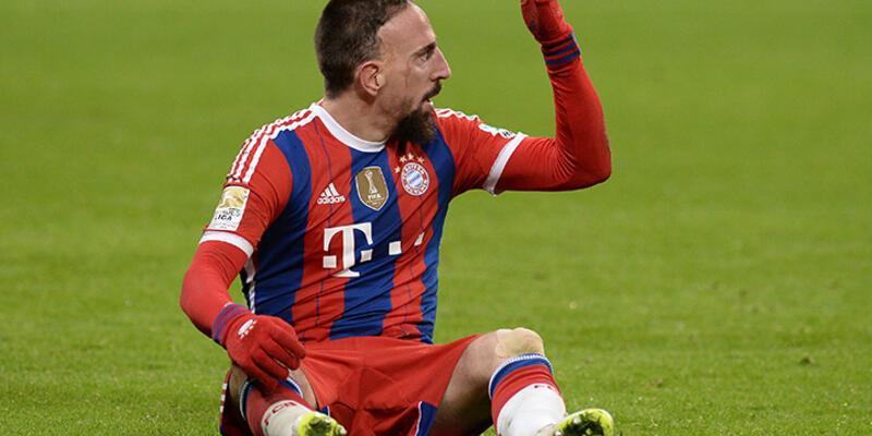 Bayern Ribery'yle kazandı