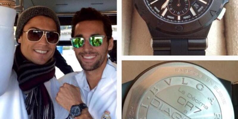 Ronaldo'dan takım arkadaşlarına 8 bin euro'luk saat