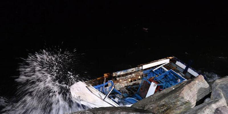 Kartal'da tekne kazası