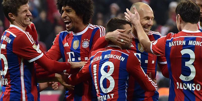 Bayern Münih şampi...