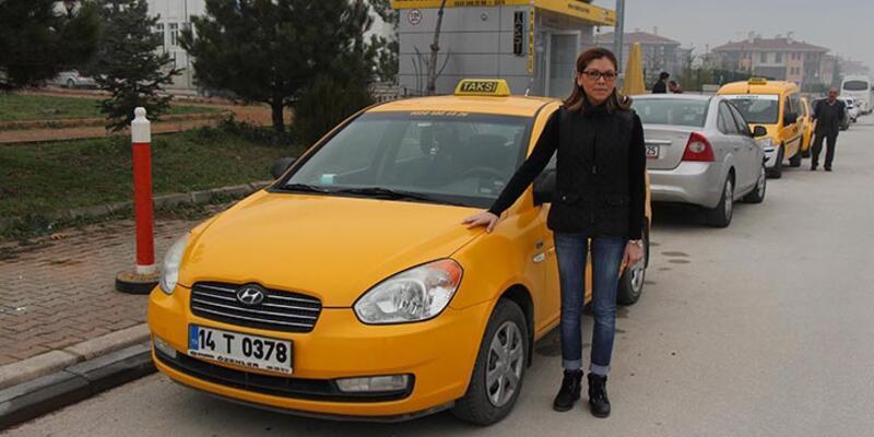 Ev kadınlığından sonra taksi şoförlüğü kolay geldi