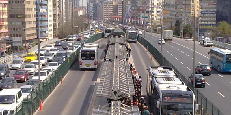 Metrobüs yolunda asfalt çalışması yapılacak