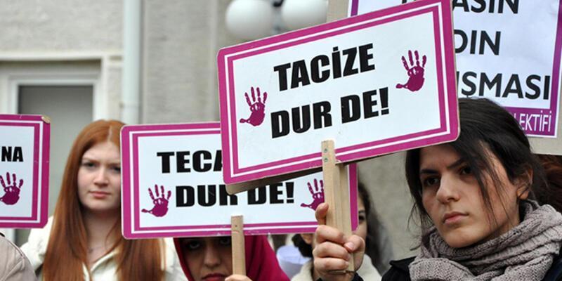 KTÜ'lü kız öğrencilerden taciz olaylarını protesto eylemi