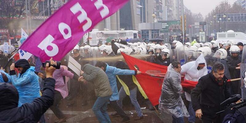 Ankara'da TMMOB müdahalesi