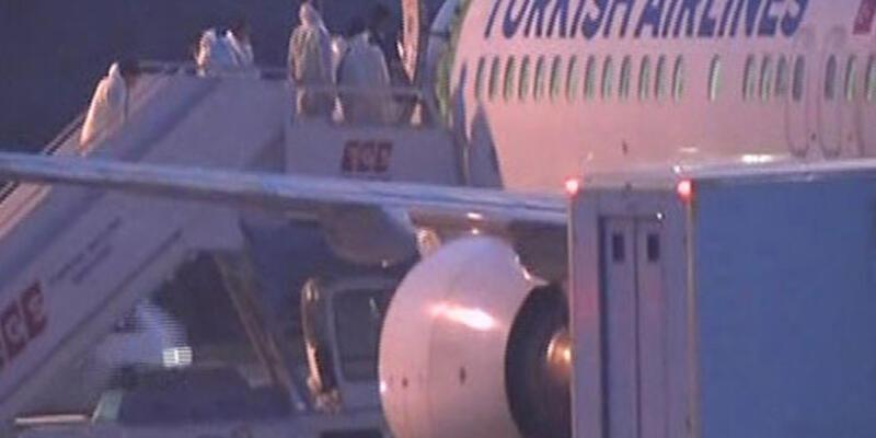 THY uçağında Ebola şüphesi!