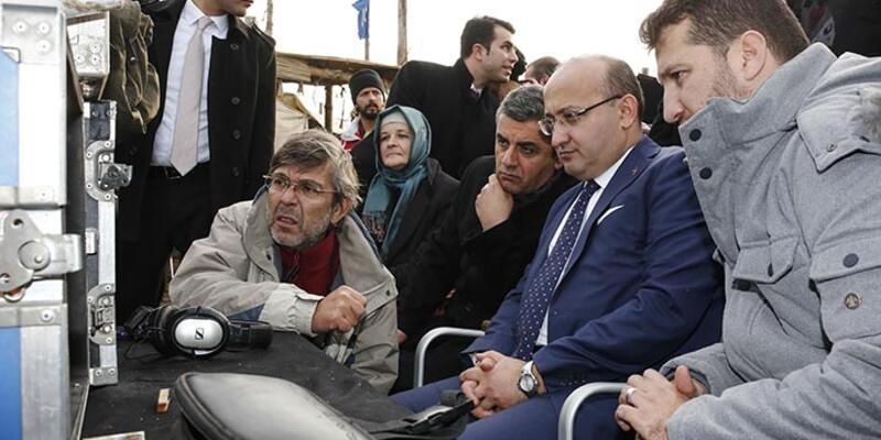 """Dizinin """"başla"""" komutunu Yalçın Akdoğan verdi"""