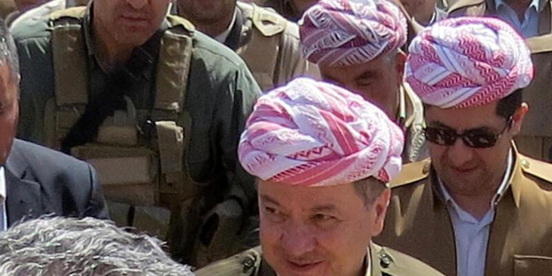 Barzani, Sincar Dağı'nda