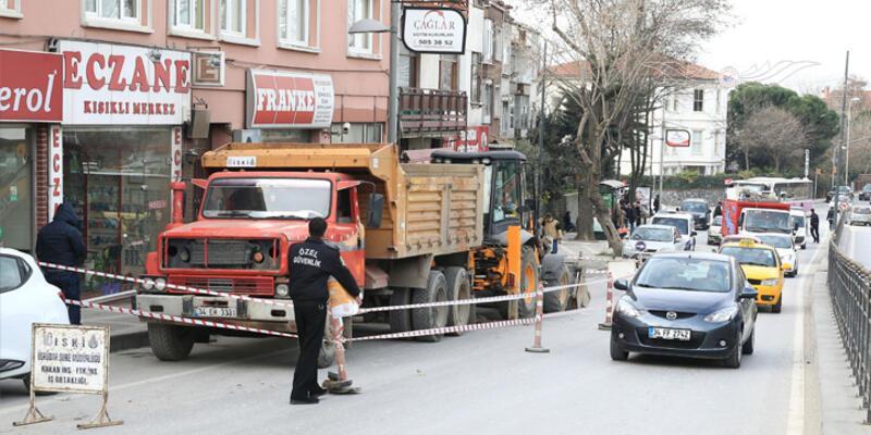 Erdoğan'ın evinin yakınında doğalgaz borusu patladı