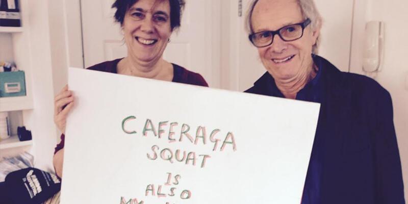 Ken Loach'dan Caferağa Mahalle Evi'ne destek mesajı