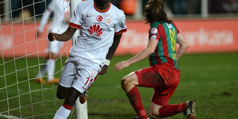 Galatasaray Diyarbakır'ı 4 golle geçti