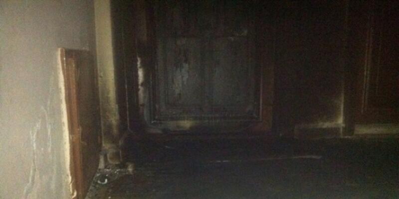 HDP binasının yakılmasında bir tutuklama