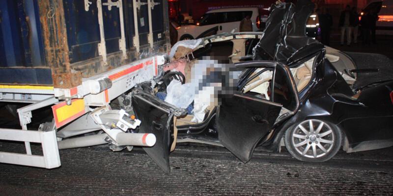 Mersin'de katliam gibi kaza: 5 ölü