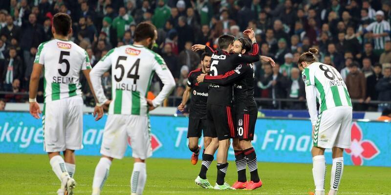 Torku Konyaspor - Beşiktaş: 1-2