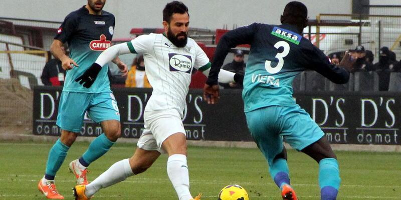 Akhisar Belediyespor - Çaykur Rizespor: 0-4