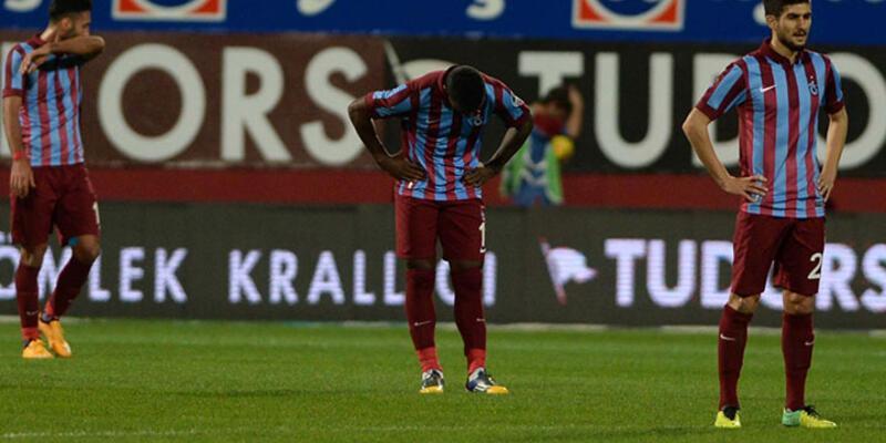 Trabzonspor evinde dağıldı!