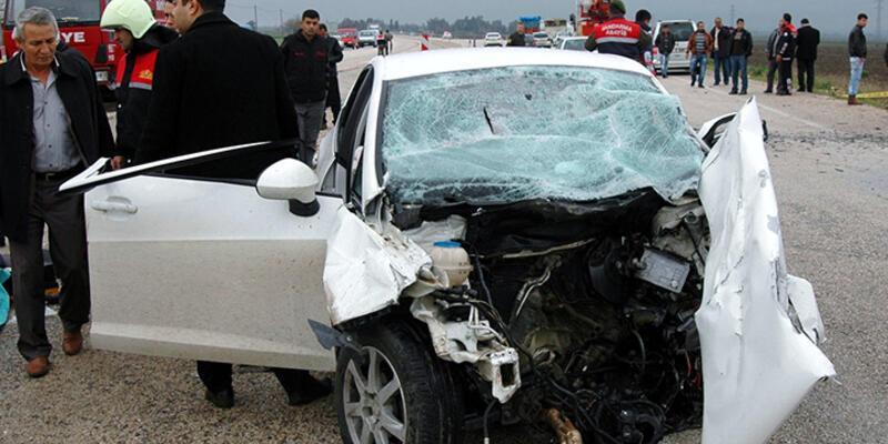 Adana'da trafik kazası: 5 ölü, 4 yaralı