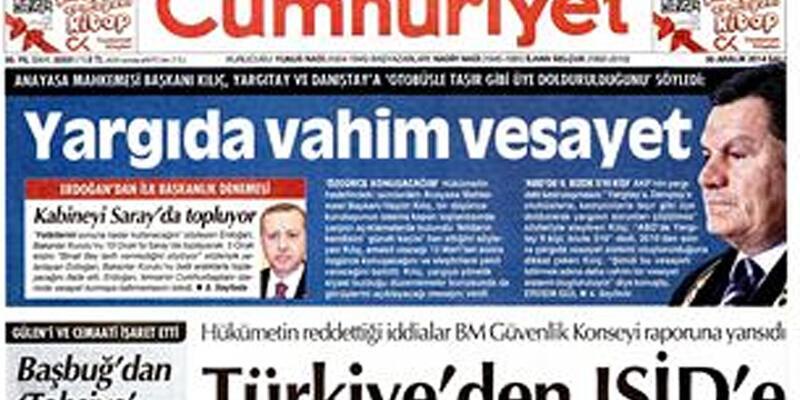 """Haşim Kılıç'tan """"Yargıda vahim vesayet"""" açıklaması"""