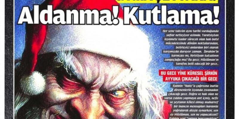 """Milli Gazete'den yılbaşı kutlayanlara, """"haramla yoğrulanlar"""" ifadesi"""