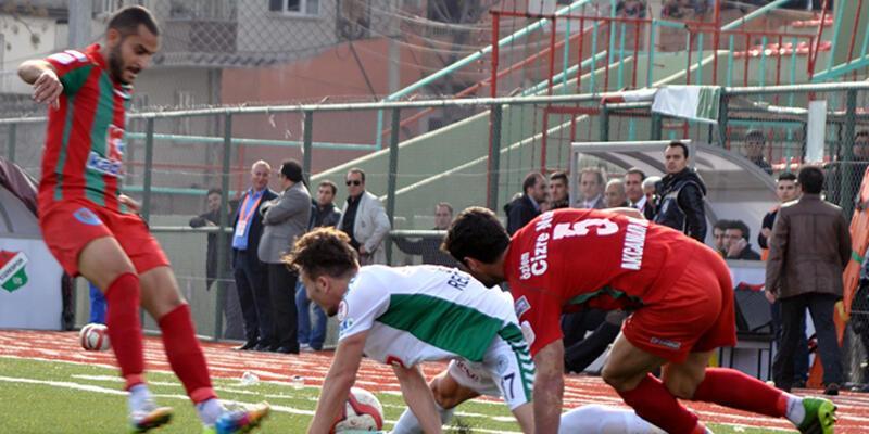 Ziraat Türkiye Kupası: Cizrespor - Torku Konyaspor: 2-0