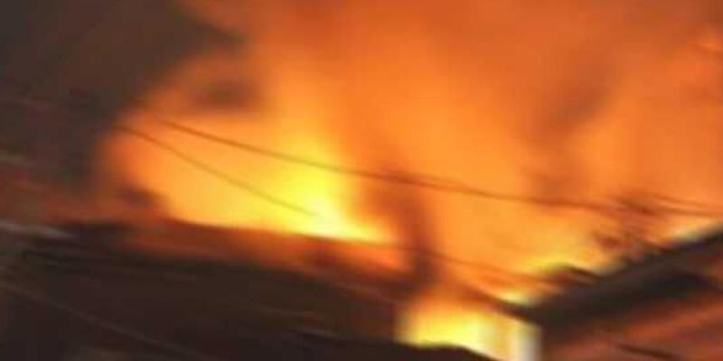 Bolu'da otelde yangın