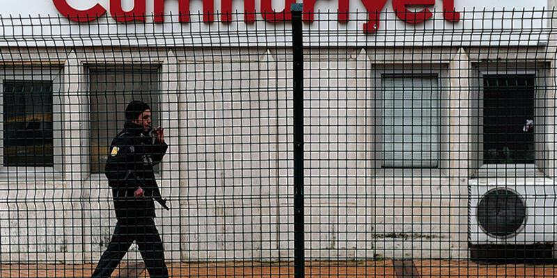Cumhuriyet gazetesine saldırı ihbarı polisi alarma geçirdi