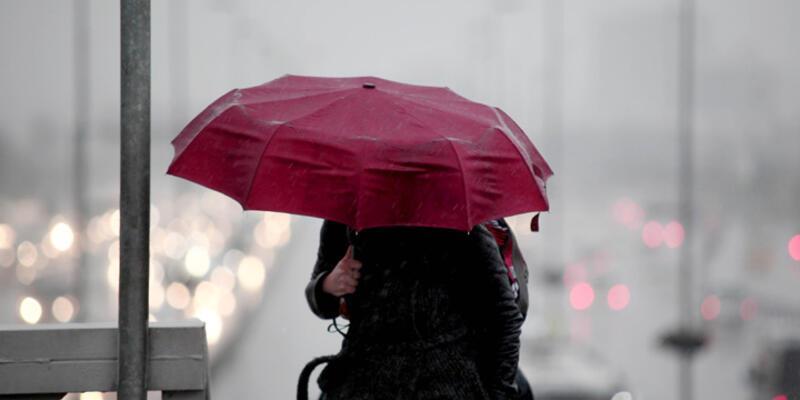 Meteoroloji'den gökgürültülü ve kuvvetli sağanak yağış uyarısı