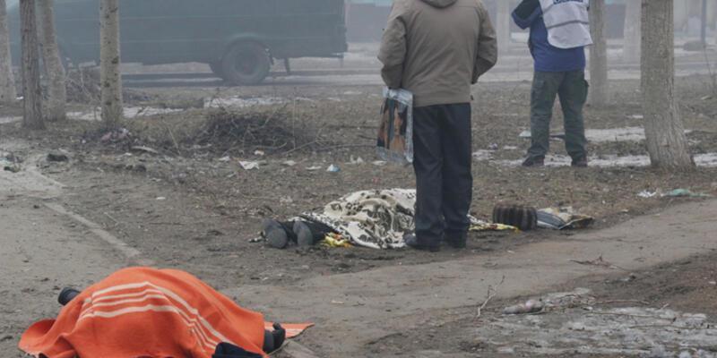 Ukrayna'nın Mariupol kentinde saldırı