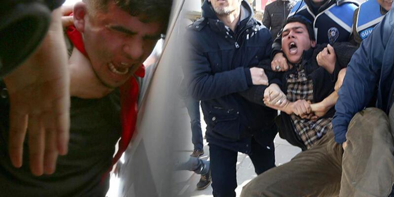 Ankara'da Berkin Elvan protestosuna çok sert müdahale