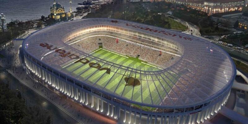 Vodafone Arena'nın kaba inşaatı haftaya bitiyor