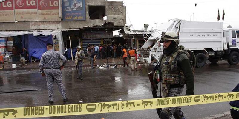Bağdat'ta bombalı saldırılarda 15 kişi öldü