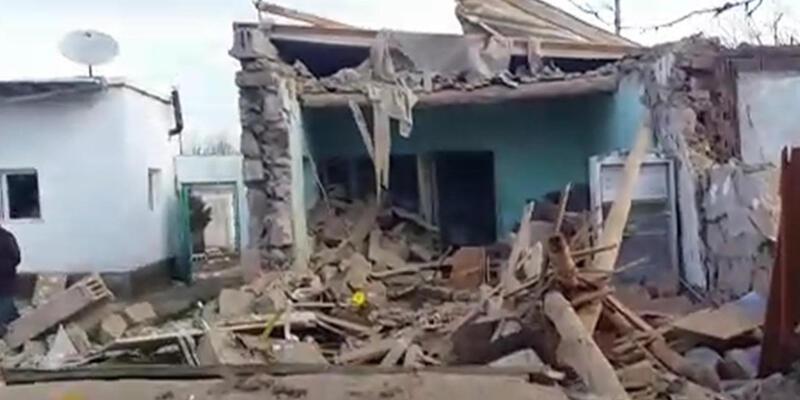 Niğde'de tüp patladı: 3 ev harabeye döndü