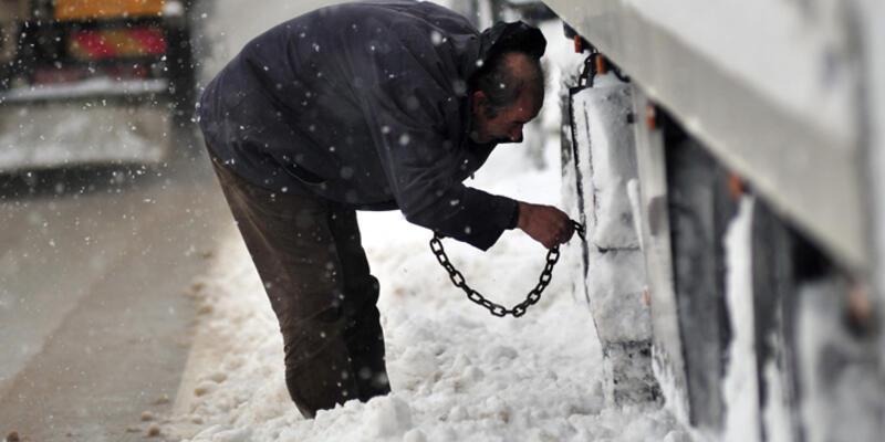 Kar yağışı bazı illerde etkisini sürdüyor