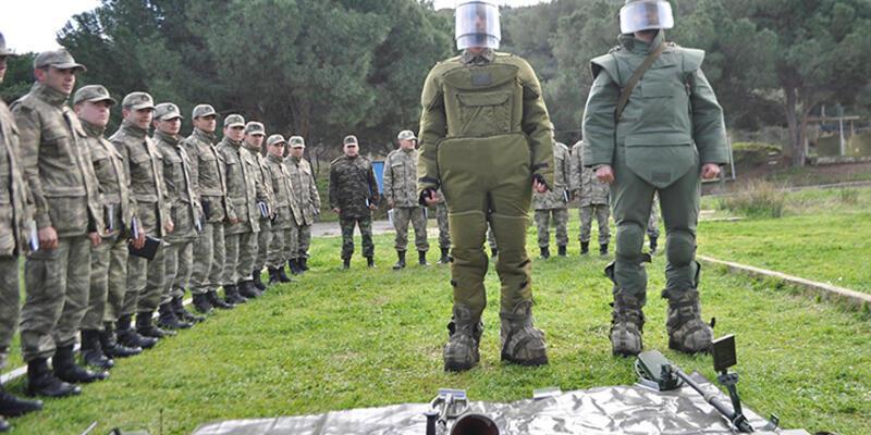 TSK mayın ve patlayıcı eğitimini İzmir'de veriyor