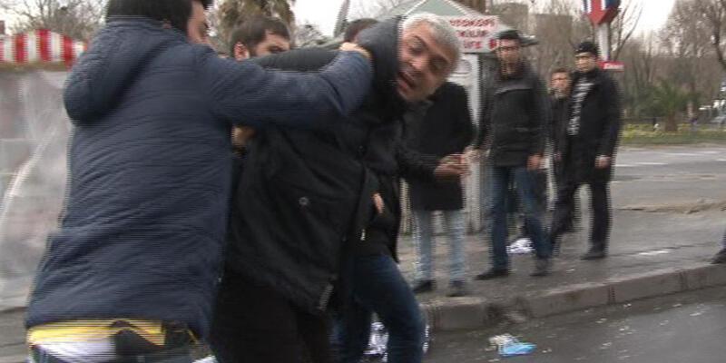 Emniyet Müdürlüğü önünde gözaltına alınanlar serbest