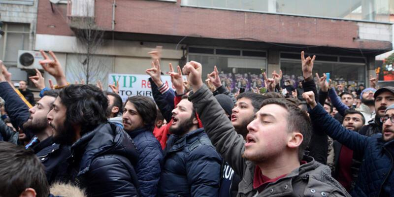 Trabzon'da tehlikeli gerginlik