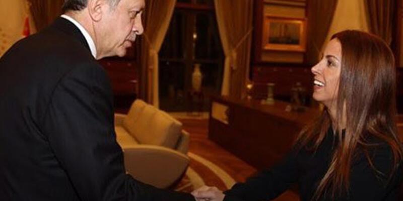 Niran Ünsal'dan Erdoğan'a ziyaret