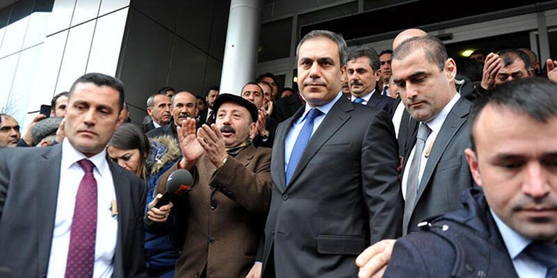 Hakan Fidan AK Parti Ankara İl Başkanlığı'nı ziyaret etti