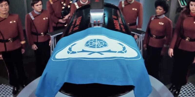 Mr. Spock'ın 33 yıl önceki cenaze töreni